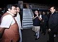 The Prime Minister, Shri Narendra Modi departs from Pune for Delhi.jpg