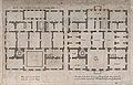 The Queens' House, Greenwich; plans of the ground and first Wellcome V0013360.jpg