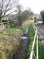The River Somer in Chilcompton Church Lane - geograph.org.uk - 1209571.jpg