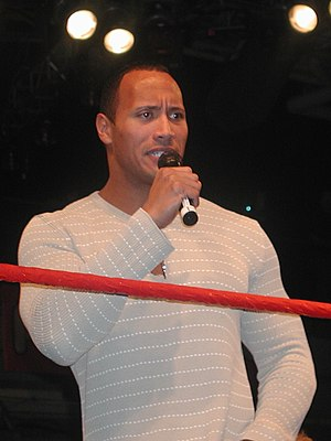 The Invasion (professional wrestling) - The Rock