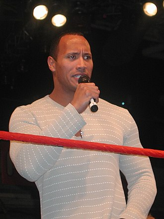 No Way Out (2003) - The Rock, who feuded with Hulk Hogan