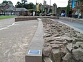 The Roman Amphitheatre, the reconstructed outer wall, Deva Victrix (Chester, UK) (8391148581).jpg