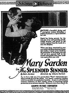 <i>The Splendid Sinner</i>