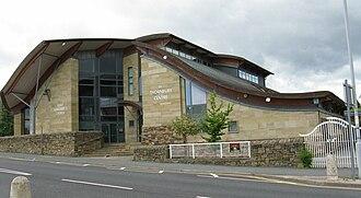 Thornbury, West Yorkshire - St. Margarets Church and the Thornbury Centre