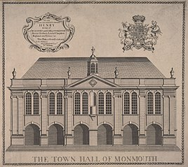 The Town Hall of Monmouth