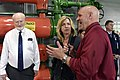 The USA's Secretary of the Air Force visits Cheyenne Mountain, 2015-05-27, 150527-F-VT441-011 (18171991956).jpg