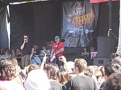 The Vandals auf der Warped Tour 2007