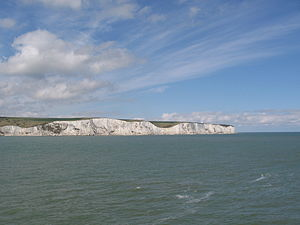 Langdon Bay (Kent) - Langdon Cliffs to South Foreland Lighthouse