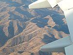 The Yanshan foothills seen from Air China 737-800 B-1769 (26427599916).jpg