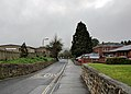 The entrance to the Honiton Community College campus on School Lane, Honiton.jpg