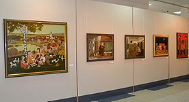The exhibition 10 years Artel of Belarusian Artists 21.01.2015 02.JPG