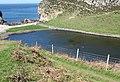 The inland edge of the Ynys y Fydlyn shingle bar - geograph.org.uk - 1267060.jpg