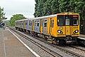 The train to New Brighton, Wallasey Village Station (geograph 2986286).jpg