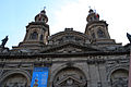 The twin towers of the Metropolitan Cathedral, Santiago (5127963675).jpg