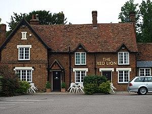Milton Bryan - Image: The village Pub geograph.org.uk 826517