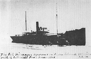 The wreck of S.S. Nicaragua on Padre Island June 1913.jpg