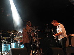 Them Crooked Vultures live am 22. August 2009 auf dem Lowlands Festival