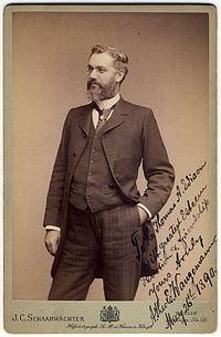 Professional portrait of man, Berlin 1890