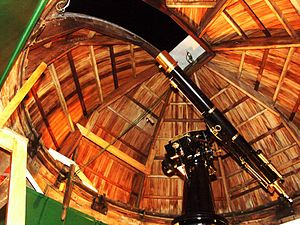 Space Place at Carter Observatory - The Thomas King telescope