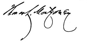 Thomas Lynch Montgomery - Image: Thomas Lynch Montgomery signature