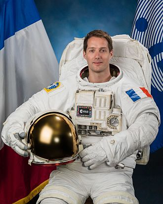 French space program - French spationaut Thomas Pesquet in 2016