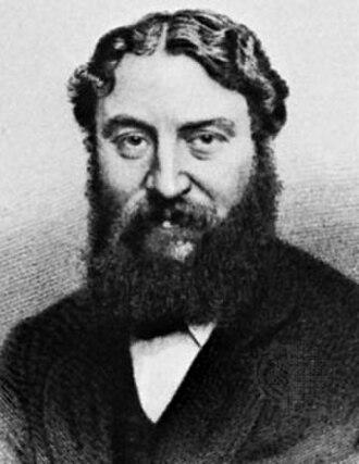Thomas William Robertson - Engraving of Tom Robertson