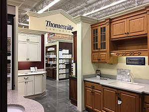 The Home Depot - Wikipedia Home Depot Design on hr block design, dollar tree design, kroger design, itt tech design, sam's club design, etrade design, carl's jr. design, kitchen design, home cafe design, chili's design, pfizer design, state of california design, home valley design, home design blueprint, home bridge design, home shed design, green thumb design, toll brothers design, domino's design,