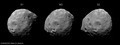 Three views of Phobos ESA231877.tiff