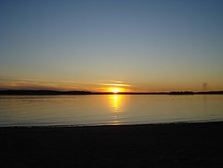 Thunder Lake 2007 Sunset.jpg