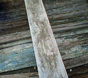 Thwart and bottom of an old wooden skiff.jpg