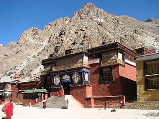 Tsurphu Monastery building in Doilungdêqên District, China