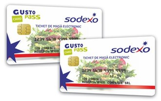 Meal voucher - Model of electronic meal vouchers used by one of the traditional issuers in Romania. The electronic meal voucher will have different layouts according to the company that will issue it.