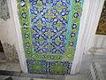 Tile at Topkapi Palace Istanbul
