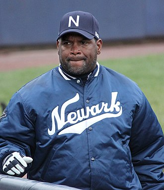 Tim Raines - Raines as Newark Bears manager in 2011