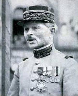 Maxime Weygand - General Maxime Weygand