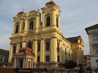 Joseph Emanuel Fischer von Erlach - The Catholic Cathedral in Timişoara