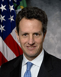 Timothy Geithner Treasury