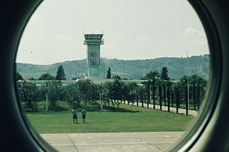 Tirana International Airport Nënë Tereza - Old picture of the Airport in 1978