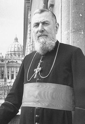 Eugène Tisserant - Cardinal Tisserant in 1958