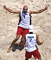 Todd Rogers and Phil Dalhausser - 2008 Summer Olympics.jpg