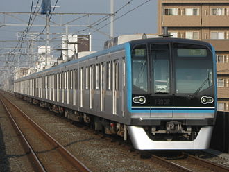 Tokyo Metro Tōzai Line - A Tokyo Metro 15000 series