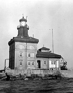 Toledo Harbor Light lighthouse in Ohio, United States
