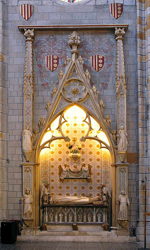 Monastery of Pedralbes - Tomb of Elisenda de Montcada.