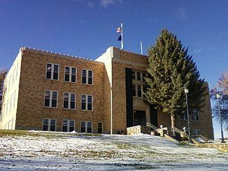 Shelby, Montana - Toole County Courthouse