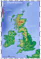 Topographic Map of the UK - Lithuanian.png