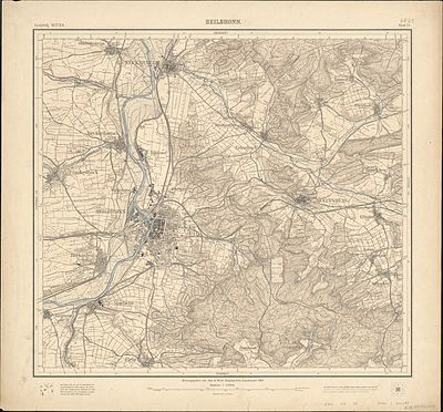 Topographische Karte 1 25000 Blatt 23 (6821) Heilbronn 1902 2.jpg