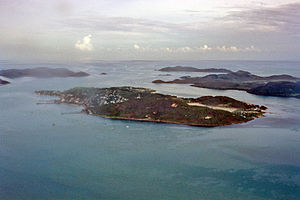 Torres Strait - Torres Strait Islands air photo