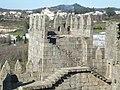 Torres inferiores do Castelo de Guimarães vistas da Torre central 03.jpg