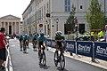 Tour d'Espagne - stage 1 - Fabio Aru et Astana, en reconnaissance du parcours.jpg