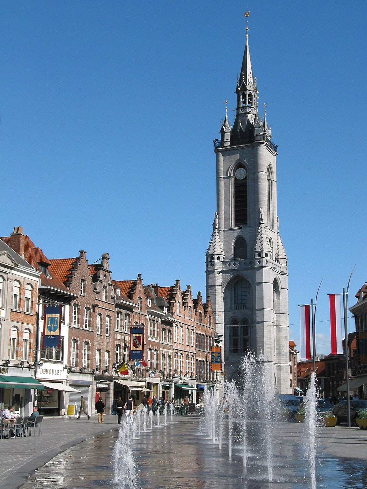 belfry of tournai wikipedia. Black Bedroom Furniture Sets. Home Design Ideas